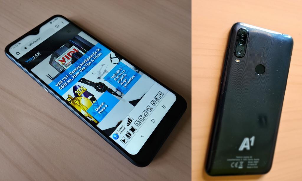 A1 Alpha 20 telefoni u prodaji u Hrvatskoj