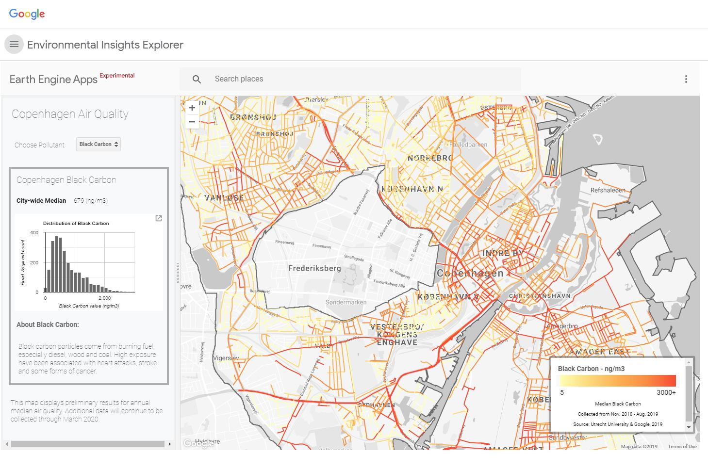 Google nudi gradovima alat za mjerenje zagađenja