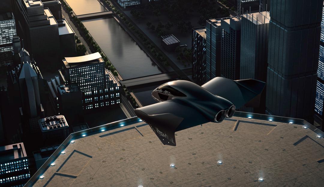 Porsche i Boeing rade električni leteći auto