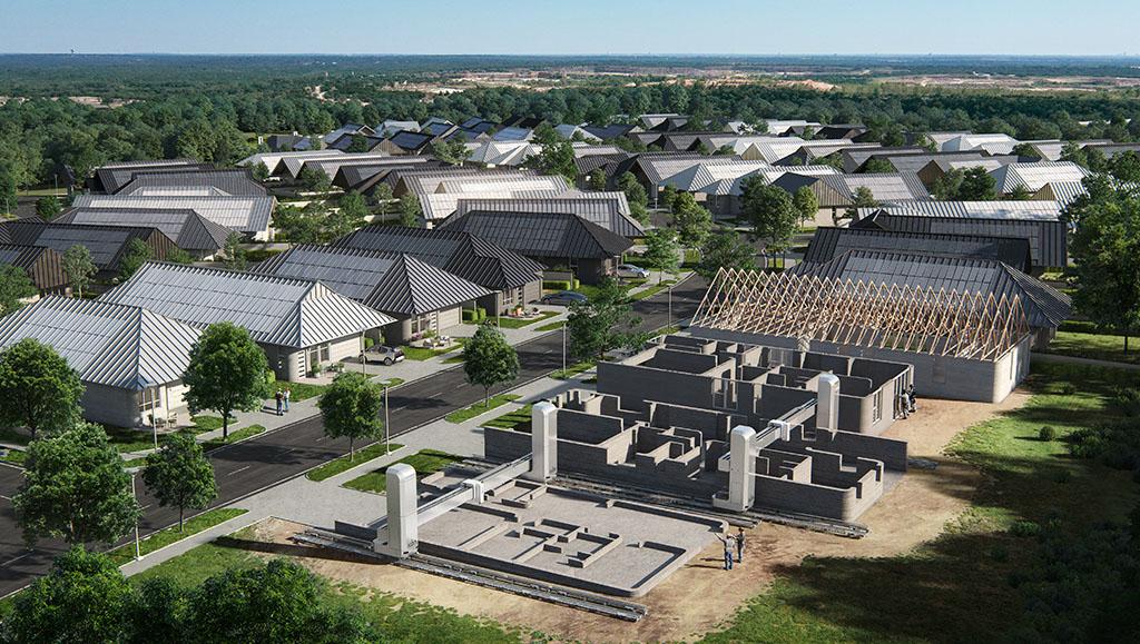 U Teksasu se 3D printa čitav kvart od 100 kuća