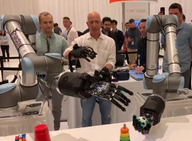 VIDEO: Bezos demonstrirao robotske ruke visoke preciznosti