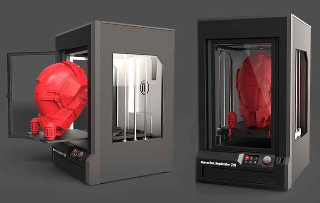 VIDEO: Industrijski 3D printer MakerBot Z18