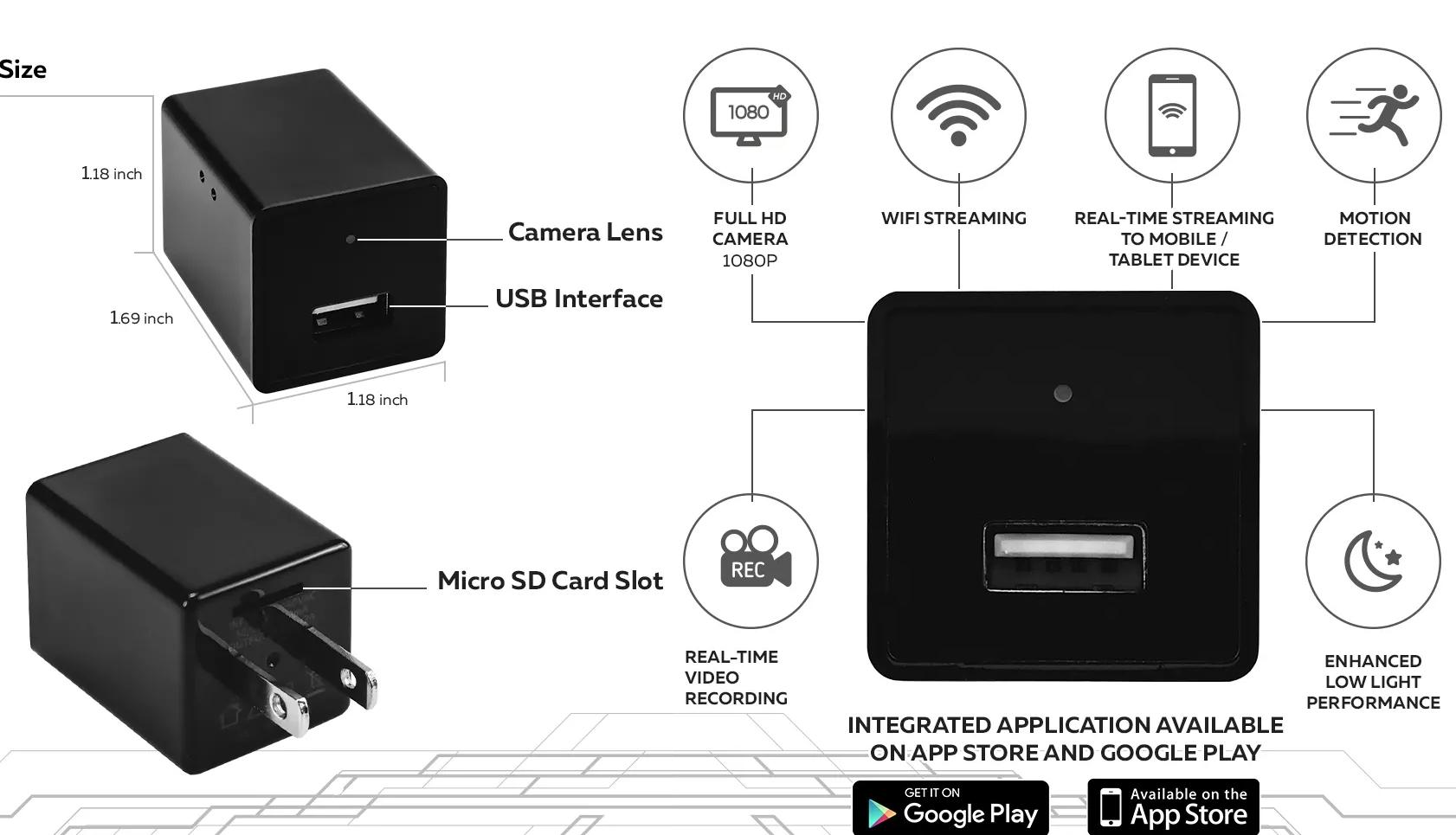 VIDEO: Tajna nadzorna kamera u USB punjaču