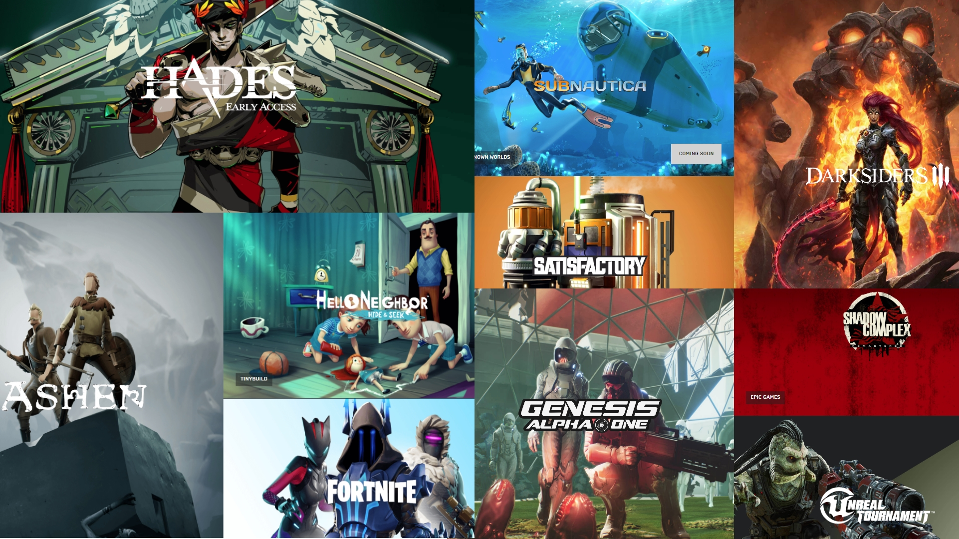 Epic Games Store je online