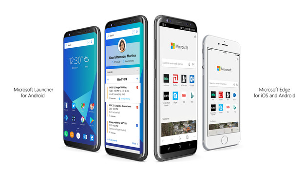 Microsoft Launcher: Continue on PC za Android
