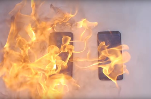 VIDEO: Samsung Galaxy S8 vs iPhone X u vatri