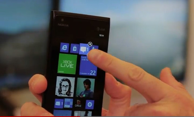 Video: Windows Phone 7.8 - Start ekran